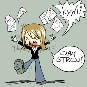 How can I ease my nerves/anxiety over my college final exam I took tonight?